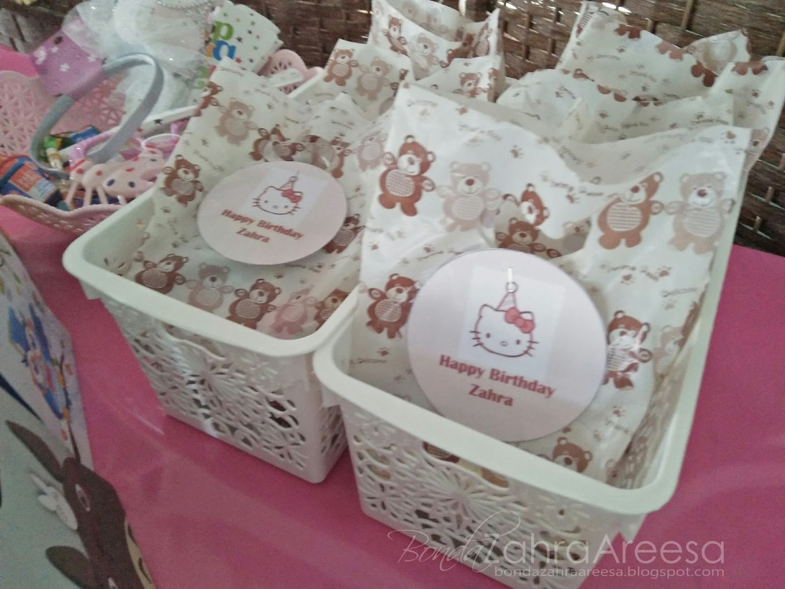 Goodiebag, tema hello kitty