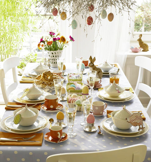 Ingrid Brown Interior Design: EASTER! Table Settings.