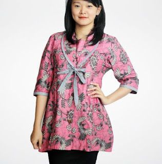 Model seragam batik gaya busana trend terkini