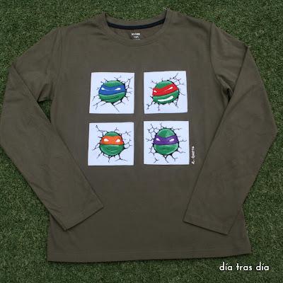 tortugas ninja día tras día