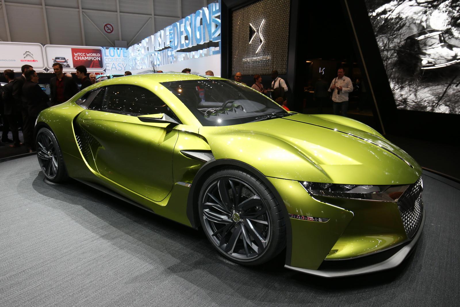 DS E-Tense Concept 2017 là mẫu xe điện đẹp nhất Geneva Motor Show năm nay?