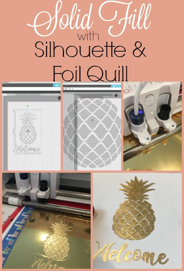 foil quil, foil quill silhouette, foil quill designs, silhouette america blog, silhouette 101