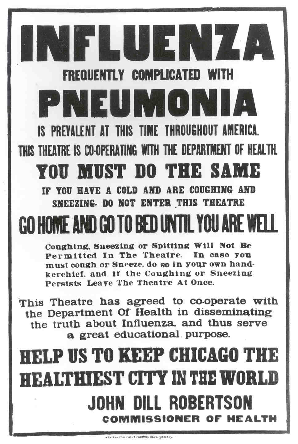 Get Ready: Flu Fridays: Looking back at the 1918 flu pandemic