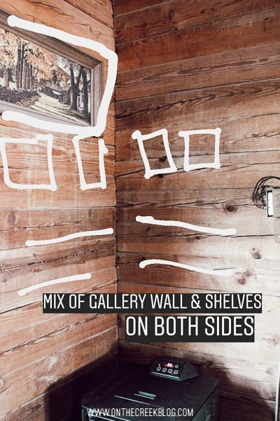 6 wall styling ideas for shelving or a gallery wall!