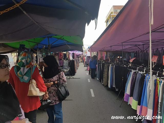 Pasar Pagi Hari Minggu di Kuala Kangsar