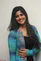 Megha Akash in a beautiful Anarkali dress with Long Jacket at LIE success meet ~  Exclusive Celebrities Galleries 009.JPG