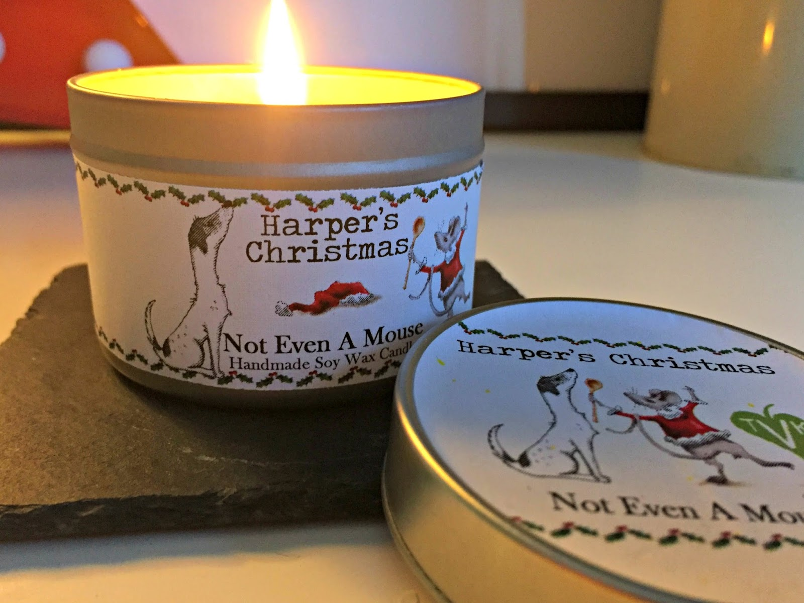 Harper's Bizarre Christmas Vegan Candle Not Even A Mouse