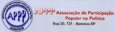 Logotipo padrão da APPP - Associação de Participação Popular na Política