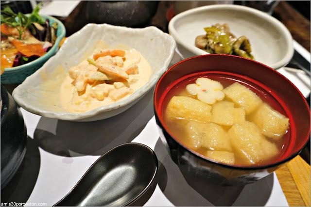 Sopa Miso del Chakura Set de Cha-An Teahouse
