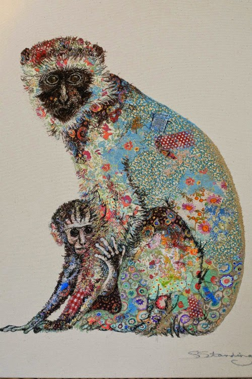 Rag rescue superb textile art by sophie standing