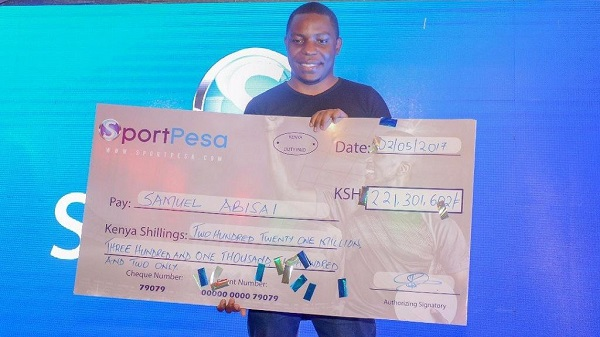 Video: Kenyan man wins $2 million with $2 football bet