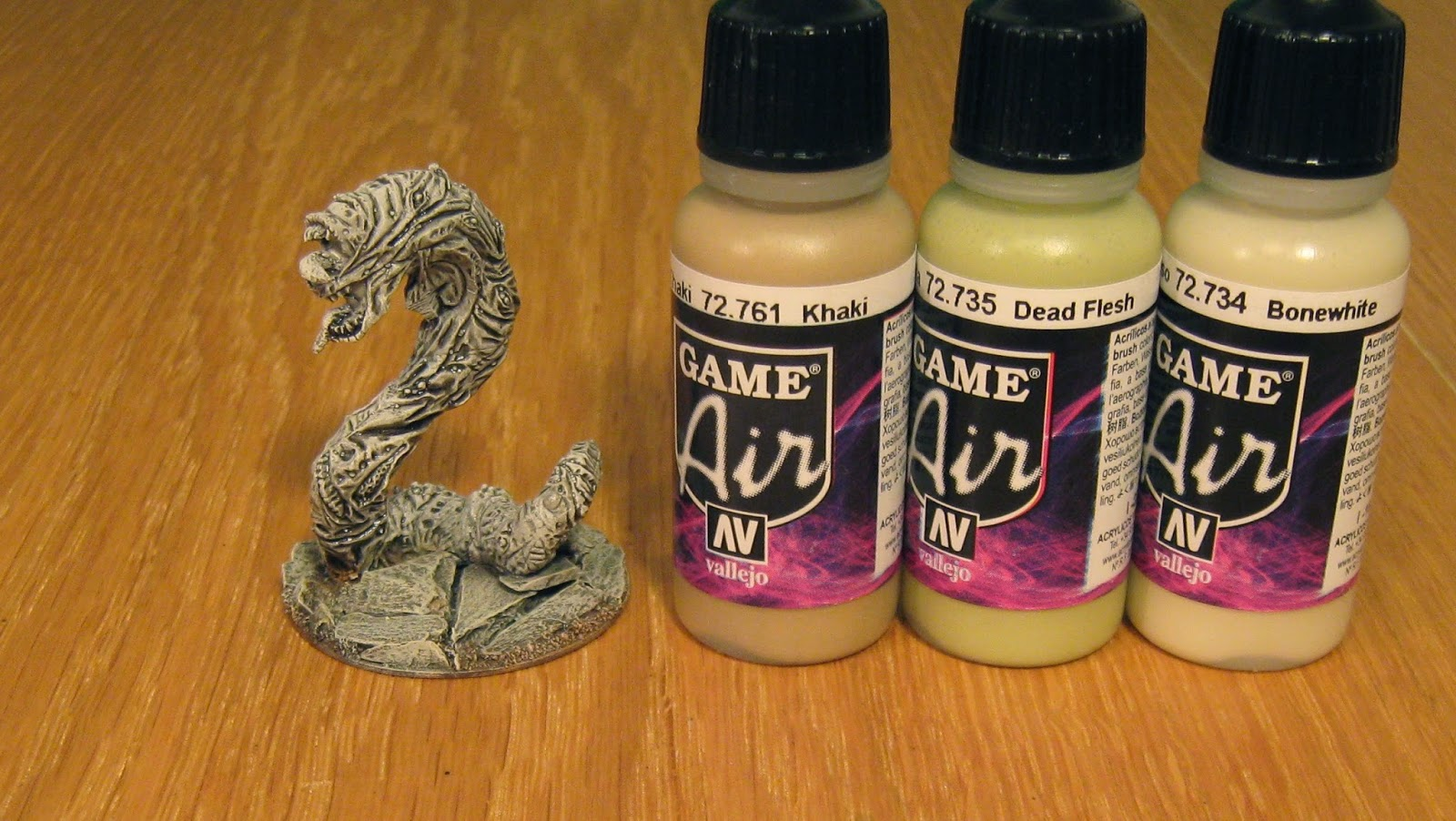 Using Vallejo Paints Airbrush
