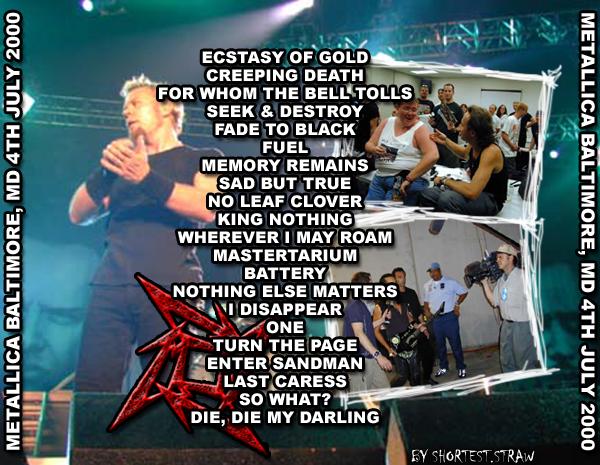 Images of Metallica 2000 - www industrious info