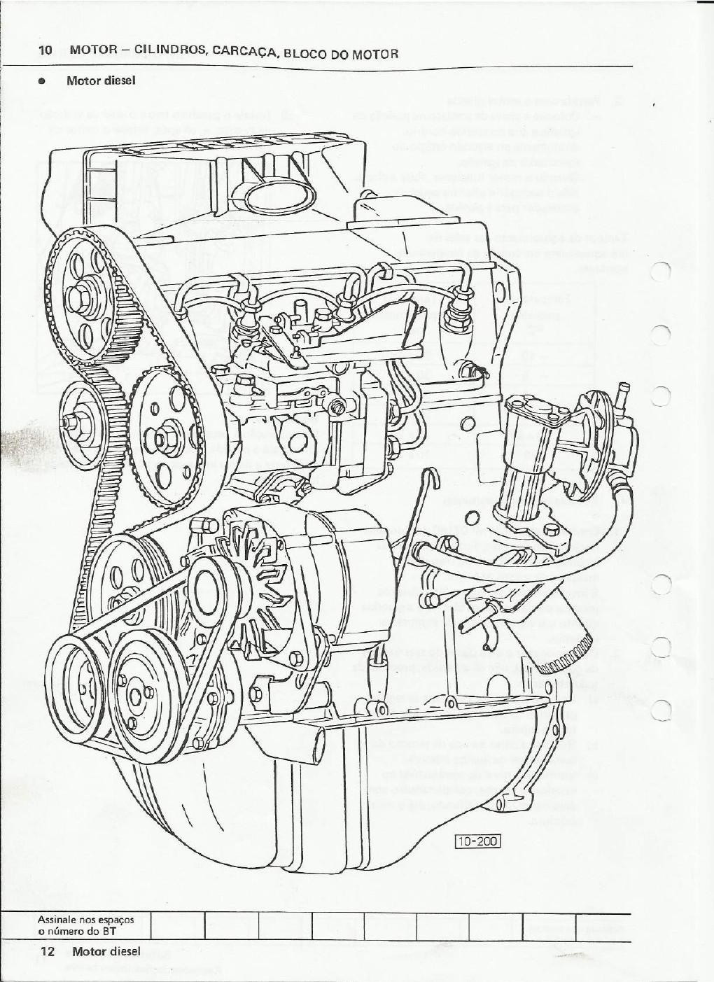 OFICINA VW : MANUAL DE REPARAÇÕES KOMBI DIESEL (MOTOR