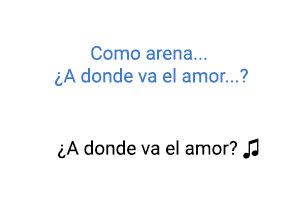 Ricardo Montaner ¿A Donde va el Amor? significado de la canción.