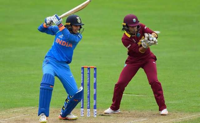 महिला विश्व कप : भारत की वेस्टइंडीज पर आसान जीत, अब पाकिस्तान से होगा मुकाबला
