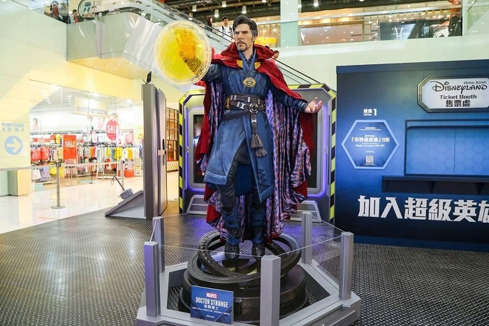 Marvel Super Hero Summer Training Station at Harbour City