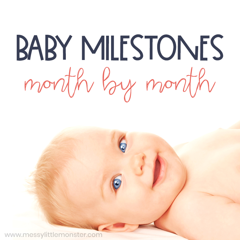baby milestones month by month