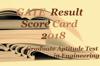 GATE 2018 Result | GATE 2018 Results