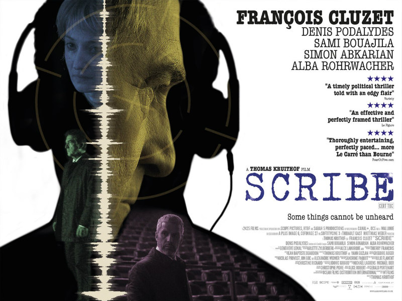 scribe movie poster