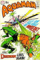 Aquaman v1 #50 dc 1970s bronze age comic book cover art by Nick Cardy