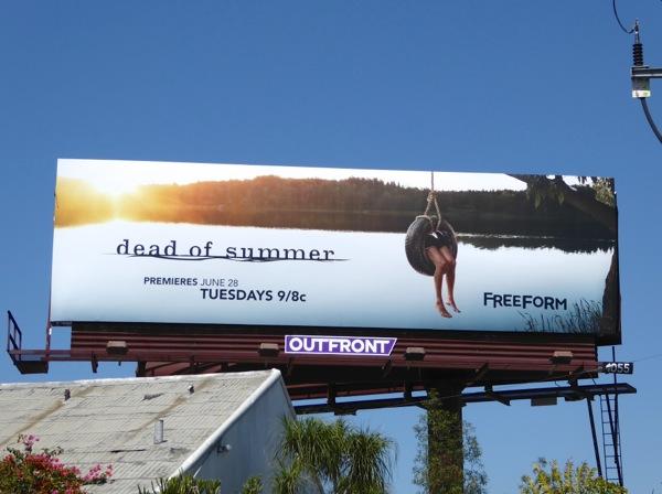 Dead of Summer series premiere billboard