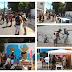 Uma manhã de arte e divertimento na Rua Feira de Santana