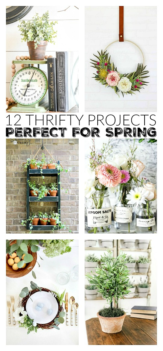 12 affordable and easy spring diy projects