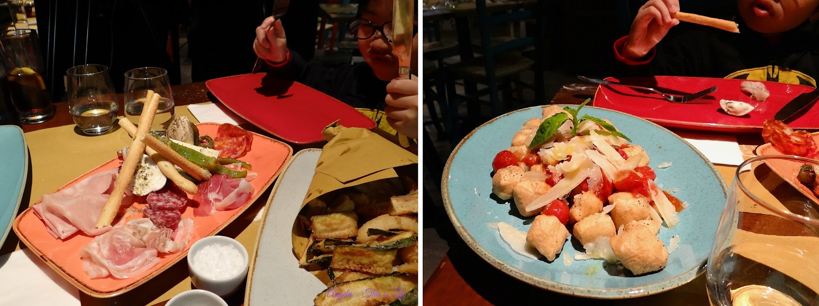 Corn Exchange Manchester, Eating out with children, Salvi's Mozarella Bar
