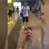 Dog stops and stares at the owner he hasn't seen in 3 years, but the real reaction is coming…