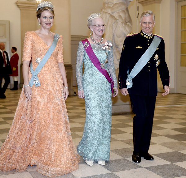 Banquet - Visit of King Philippe and Queen Mathilde to Denmark ...