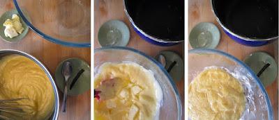 Tarta de pera y manzana (Siempredulces) - Elaboración Paso 8