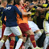 Galatasaray, Fenerbahce point fingers after mass brawl