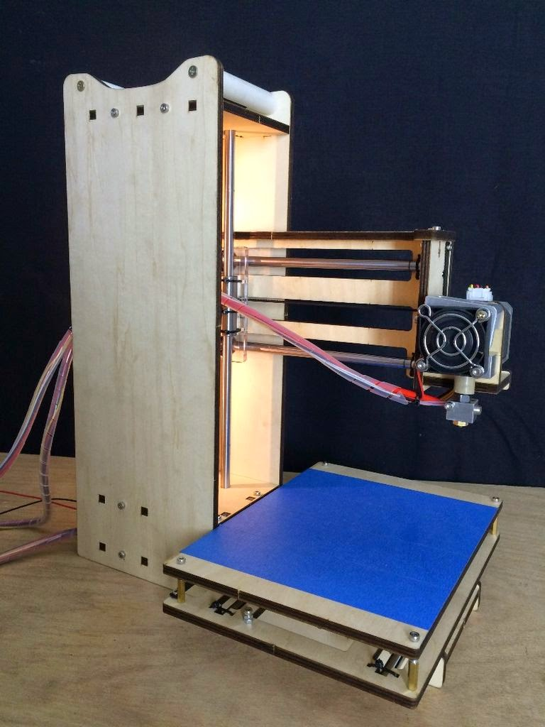 DIY 3D Printing: Tower Simple XL 200 USD DIY 3D Printer