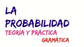 Expresar la probabilidad en español. Teoría y práctica