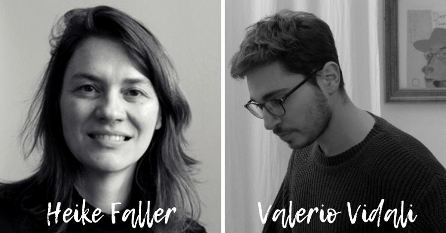 Heike Faller e Valerio Vidali