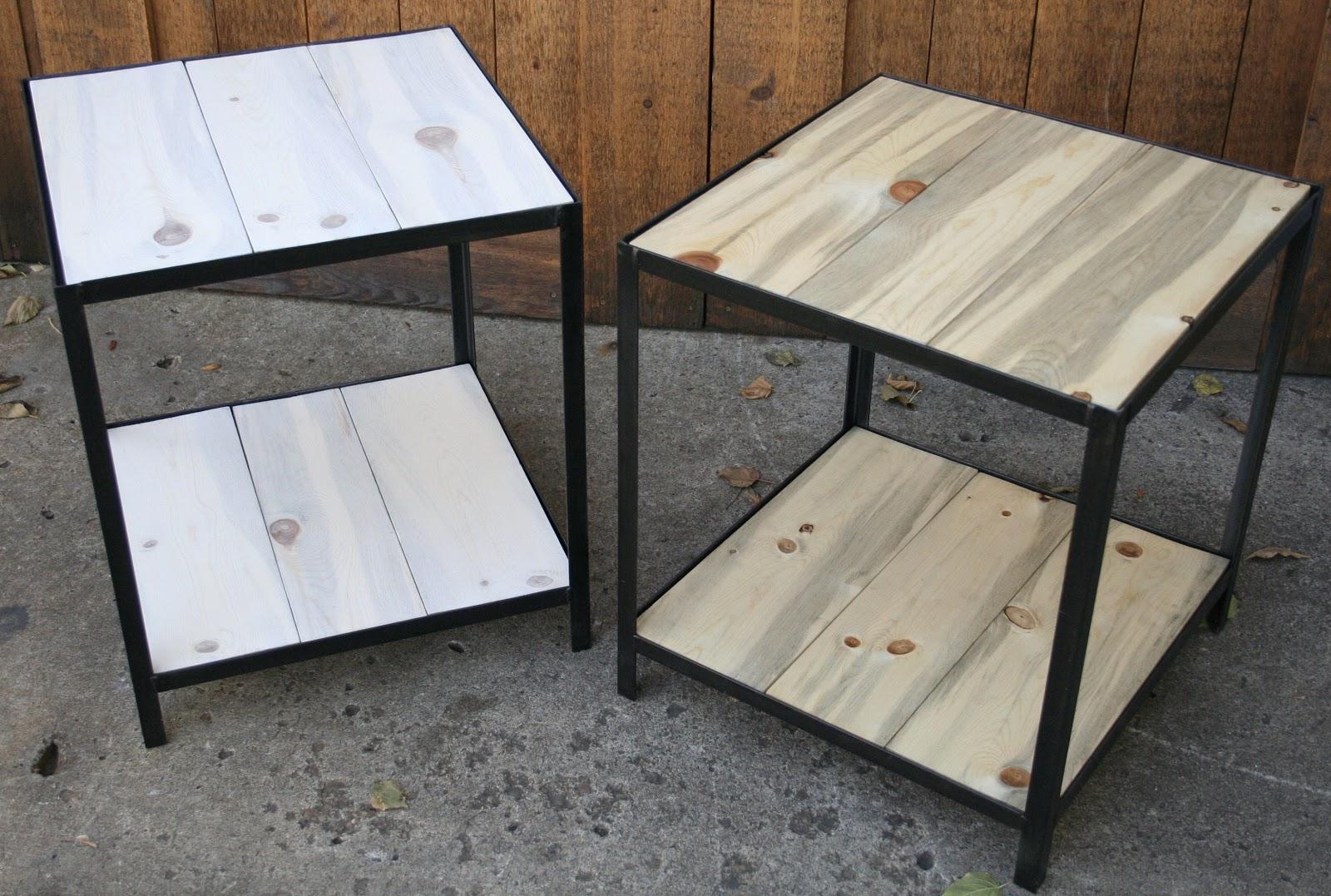 Real Industrial Edge Furniture Llc Beetle Kill Pine Tables