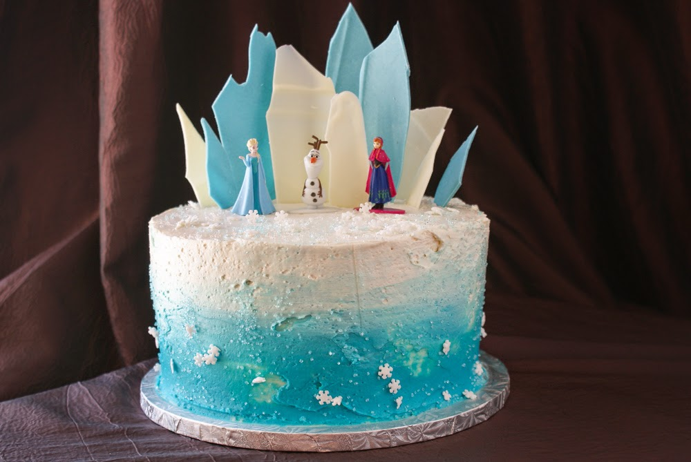 My Gluten Free Bakery Layer Cake Share Frozen Theme Birthday Cake