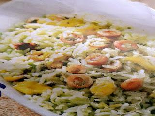 Gambar Resep Nasi Goreng Cumi Hijau