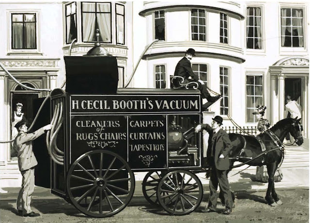 The First Vacuum Cleaner