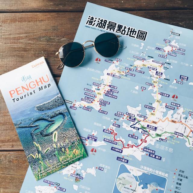penghu tourist map
