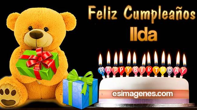 Feliz Cumpleaños Ilda