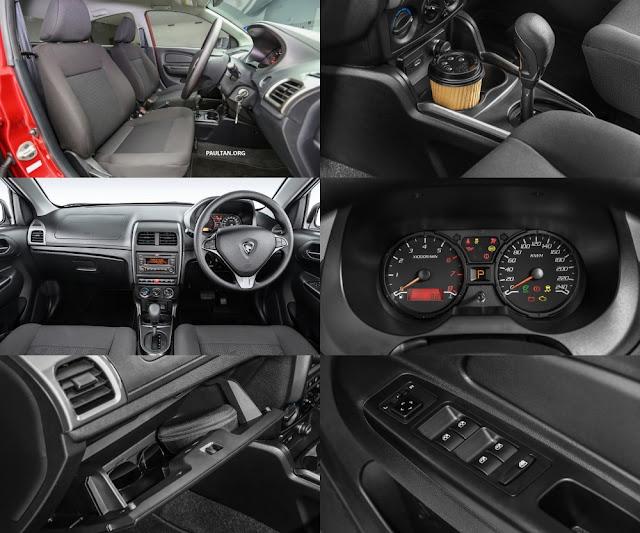 Proton Saga 2016/2017 - Interior