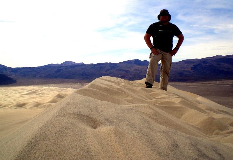 AdventureDuo com: Eureka Dunes & Saline Warm Springs