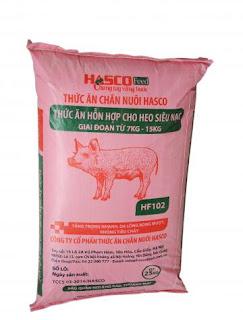 HascoFeed: giới thiệu hỗn hợp dành cho Heo con ( 7-15kg)