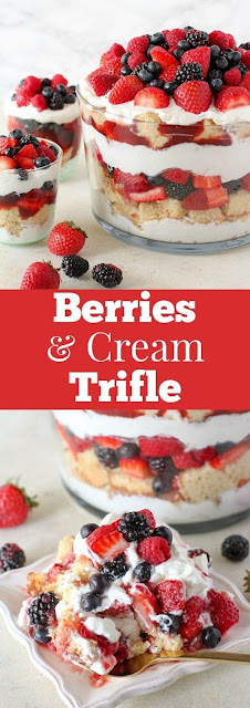 Berries and Cream Trifle