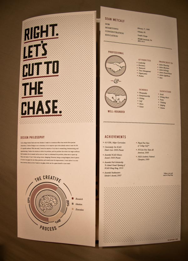 15 Examples of Attractive Graphic Design Resumes CV  JayceoYesta