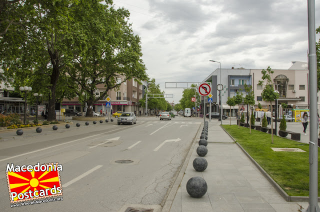 #Kavadarci city center, #Tikvesh region, #Macedonia
