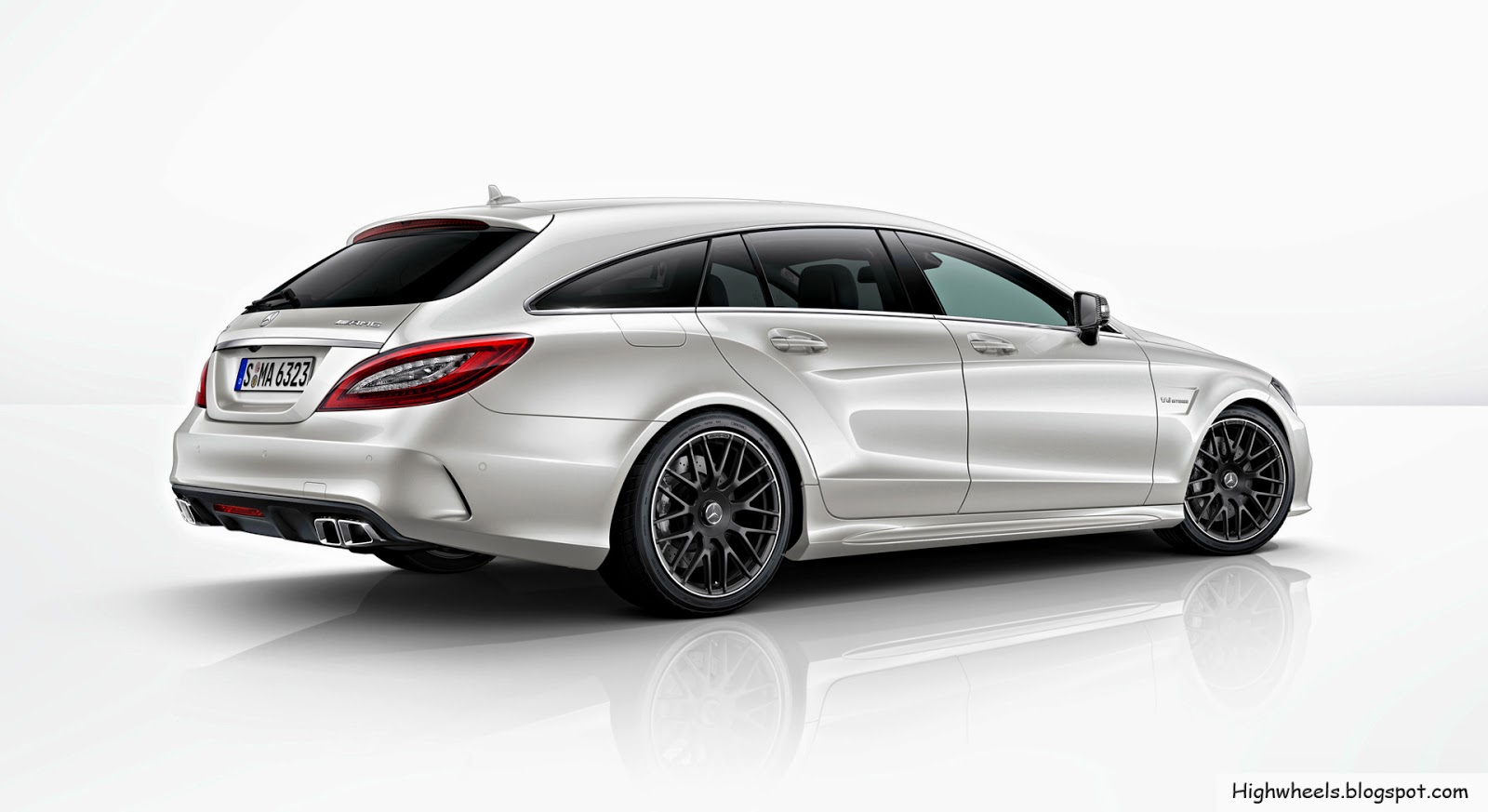 high wheels 2015 mercedes benz cls 63 amg shooting brake. Black Bedroom Furniture Sets. Home Design Ideas