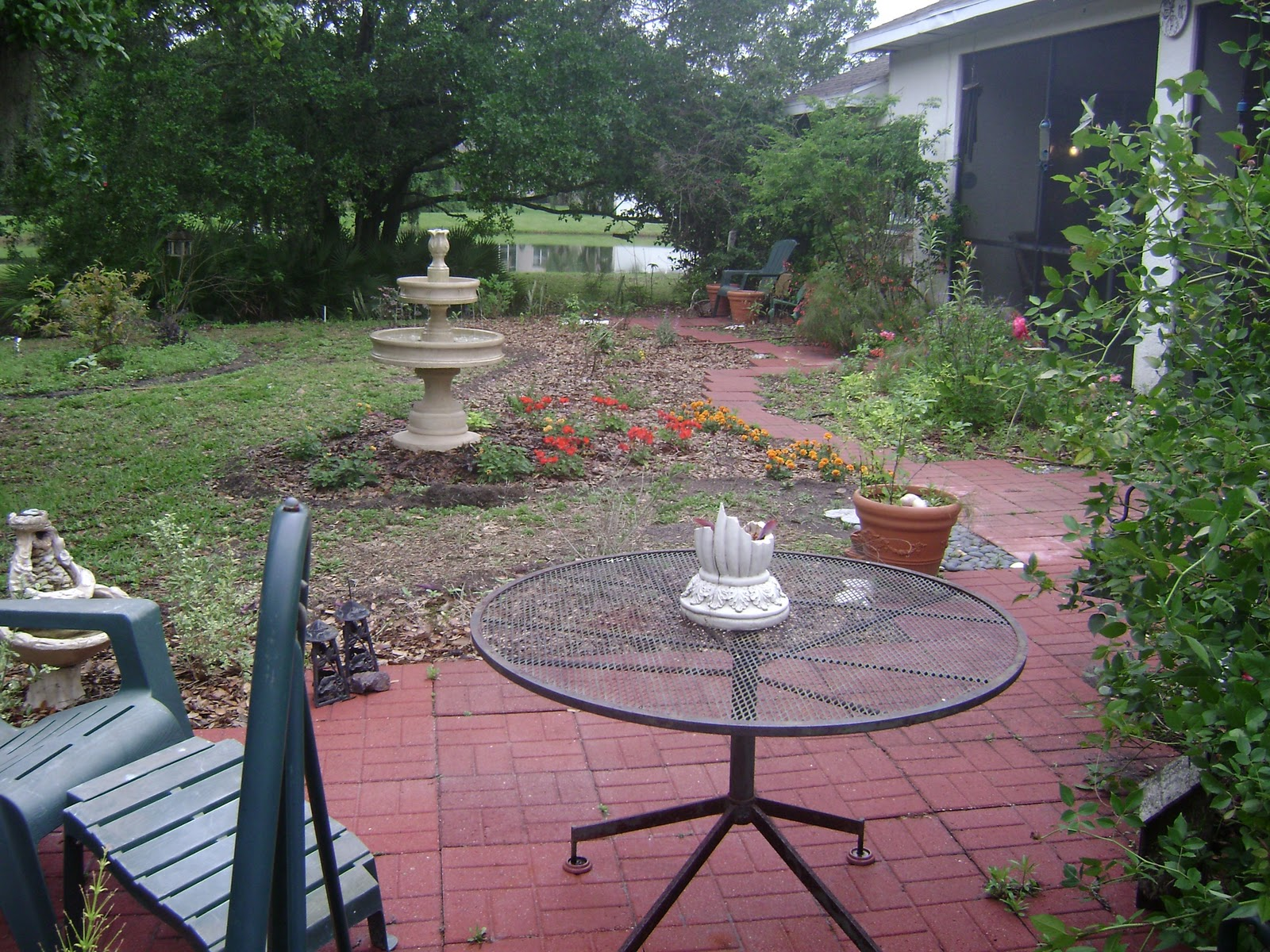 Paver Patio Ideas For Enchanting Backyard: Serendipity In The Garden: Paving The Way For A Friend